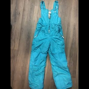 CHAMPION Kids Baby Blue Snowsuit Overall Med 7-8